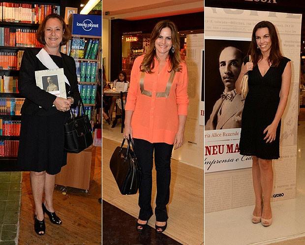 Elizabeth Savalla (à esq.); Renata Ceribelli (ao centro) e Ana Paula Araújo (à dir.) (Foto: Fabio Cordeiro/Revista QUEM)