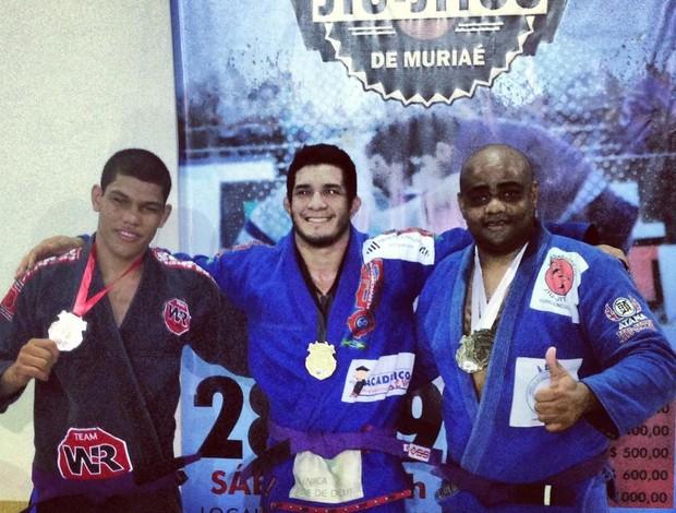 Participação do atleta em campeonato realizado em Minas Gerais. (Foto: Arquivo Pessoal)