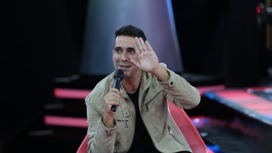 André Marques perdeu peso com os ensaios do 'The Voice Kids'