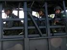 Militares reforçam a segurança no RN