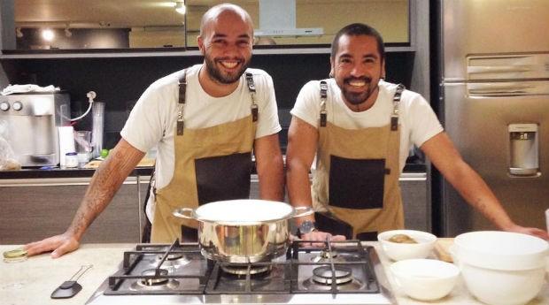 Thiago Henrique do Carmo, 31 anos, e Mauro Concha, 36 anos, são os proprietários da Mermeleia (Foto: Divulgação)