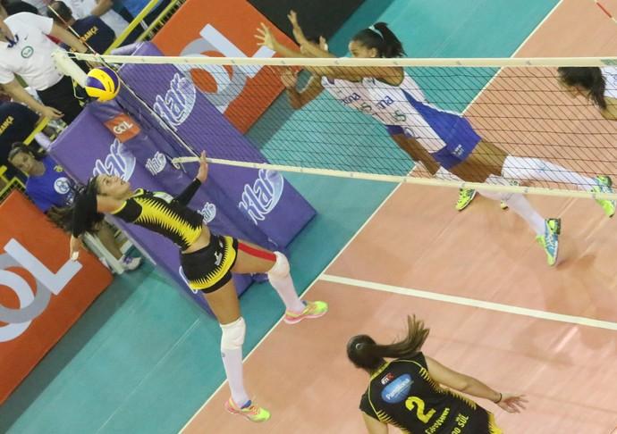 Rio do Sul x Rio de Janeiro, Superliga feminina (Foto: Clóvis Eduardo Cuco/Rio do Sul)