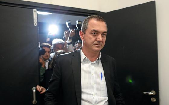 O empresário Joesley Batista,após novo depoimento (Foto:  Adriano Machado/REUTERS)