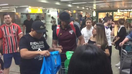 Famílias, palmeirense com Raí e Sidão assediado: São Paulo volta ao Brasil