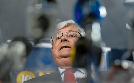 O procurador geral da república Rodrigo Janot (Foto: Sérgio Lima/ÉPOCA)