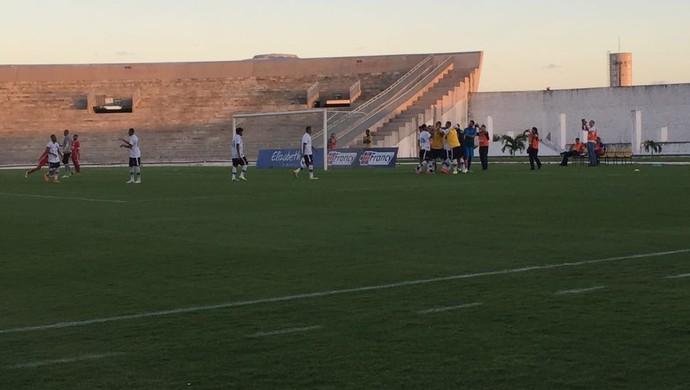 Botafogo-PB, Internacional-PB (Foto: Lucas Barros / GloboEsporte.com)
