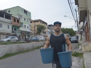 Moradores estão preocupados com racionamento de água na Grande Vitória (Foto: Vitor Jubini/ A Gazeta)