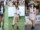 Veja o estilo de Alessandra Ambrósio, Katy Perry, Hilary Duff e mais famosas  no Coachella