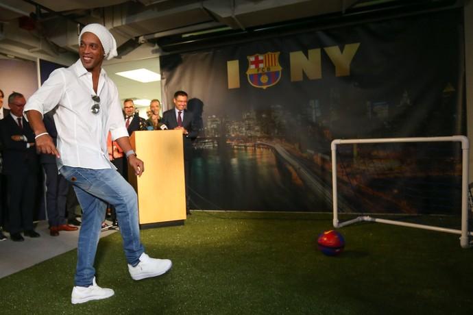 Ronaldinho Barcelona (Foto: Getty Images)