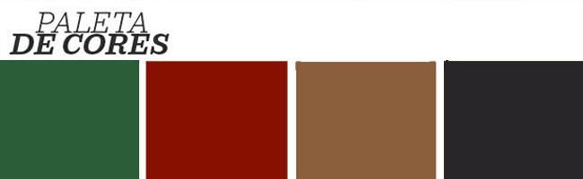 Décor do dia: sala de jantar contemporânea com cores complementares (Foto: Reprodução)