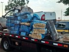Polícia prende mulheres com 640 quilos de maconha em carro roubado