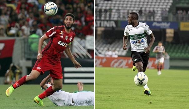 Futebol Flamengo x Coritiba (Foto: Gilvan de Souza / Flamengo / Divulgação Site Oficial do Coritiba)