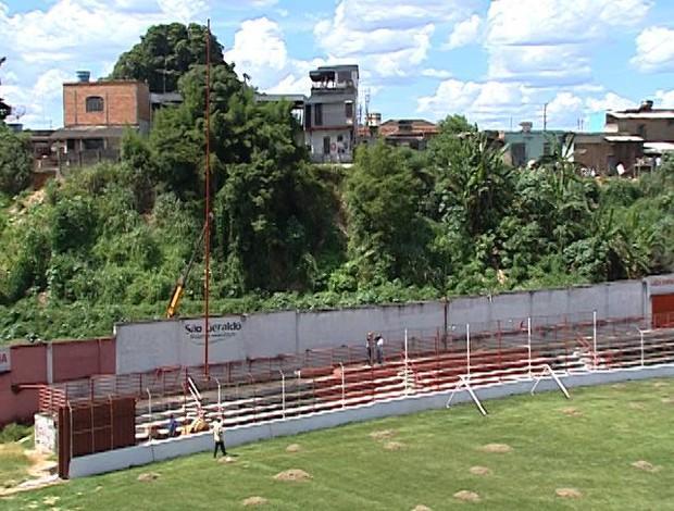 para-raios guarani-mg farião divinópolis (Foto: Reprodução/TV Integração)