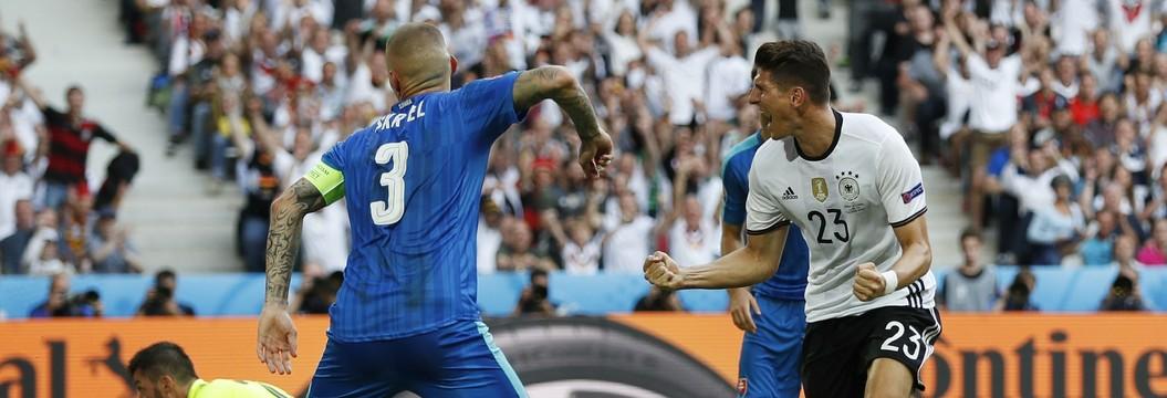 Os gols de Alemanha 3 x 0 Eslováquia (Reuters)