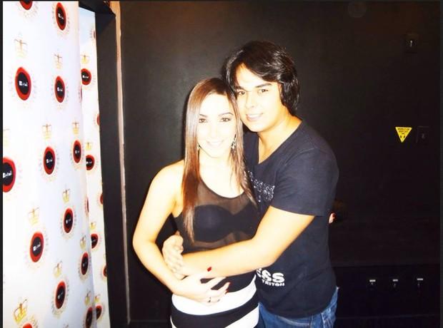 Igor Camargo e sua noiva (Foto: Reprodução/Reprodução)