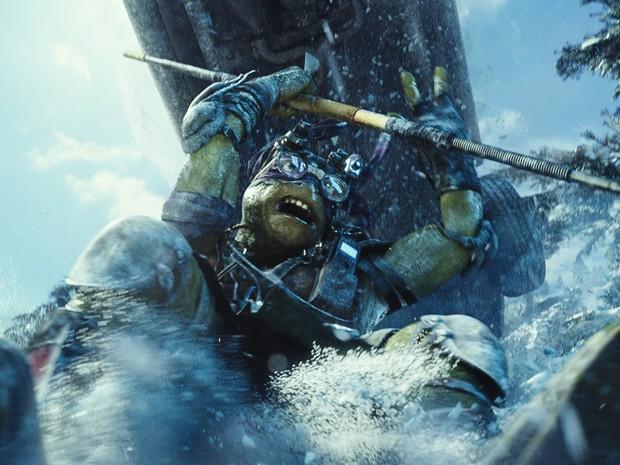 Donatello em 'As Tartarugas Ninja' (Foto: Divulgação/Paramount)