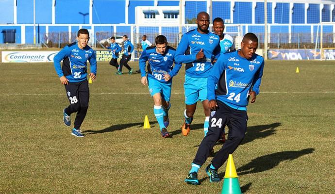 Avaí treino (Foto: André Palma Ribeiro/Avaí FC)