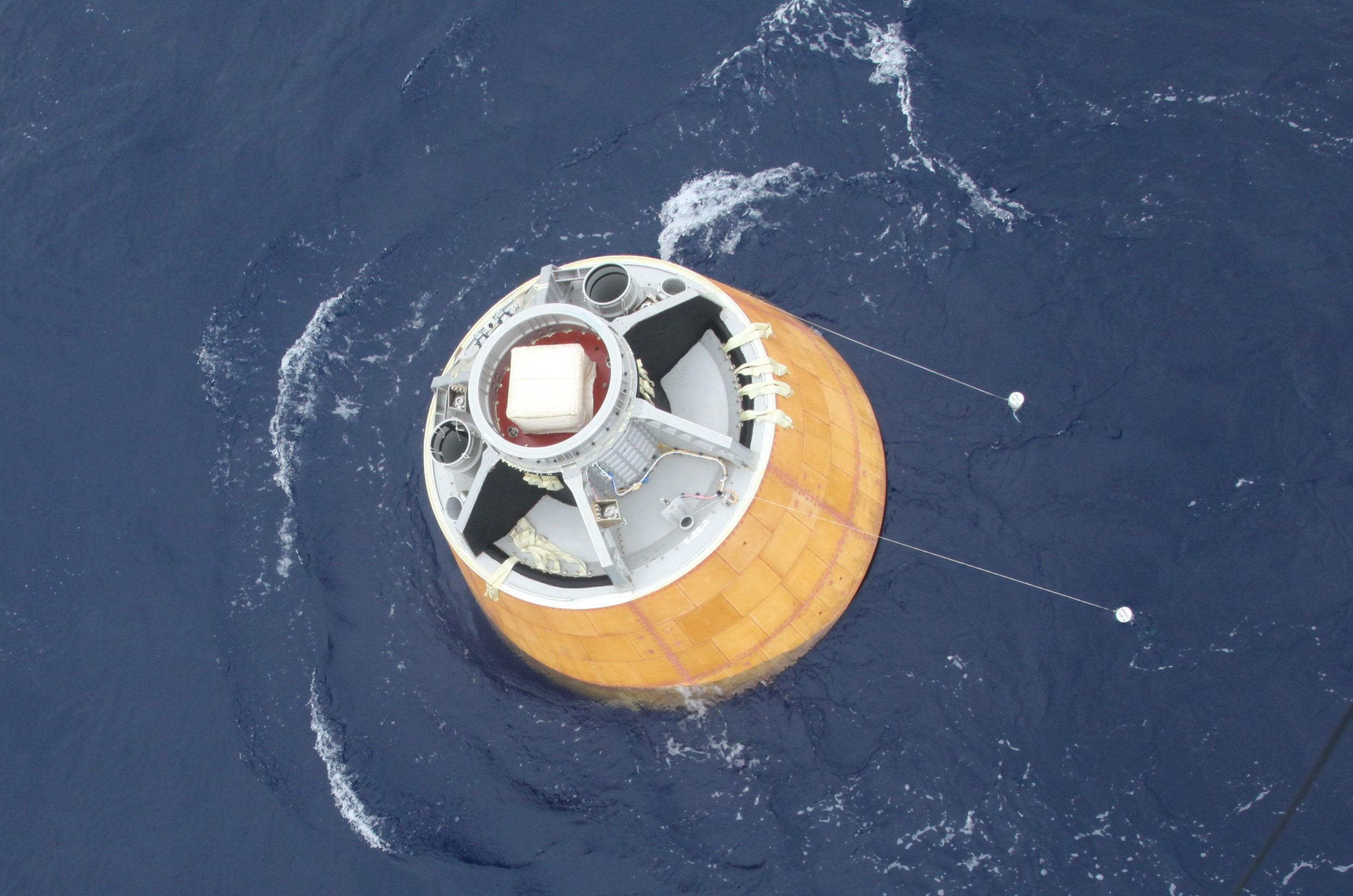 Cápsula poderá em breve levar ao espaço de dois a três astronautas (Foto: ISRO/Divulgação)