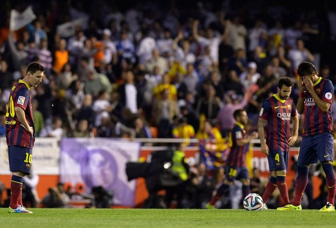 Barcelona x Real Madrid - Copa do Rei (Foto: AFP)