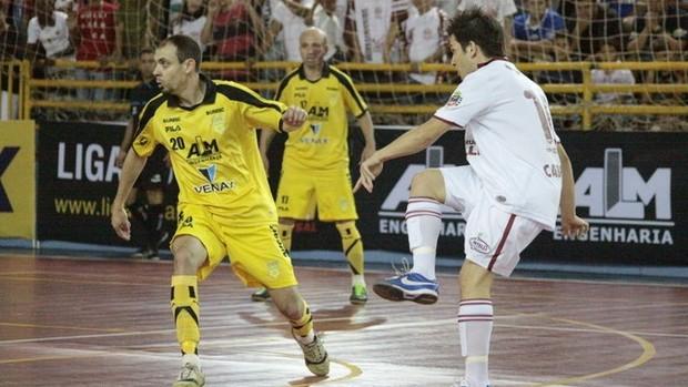 Cabreúva Orlândia Assoeva Liga Futsal (Foto: Márcio Damião/Divulgação)