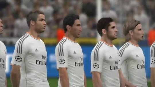 PES 2014: simulamos a final da UEFA Champions League no game; confira