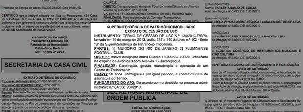 construção CT do Fluminense terreno Prefeitura (Foto: Reprodução)