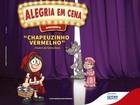 Teatro de fantoches 'Chapeuzinho Vermelho' é atração em Volta Redonda