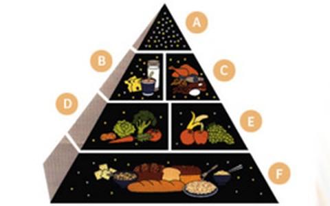 Confira pirâmide para a Dieta da Educação Alimentar