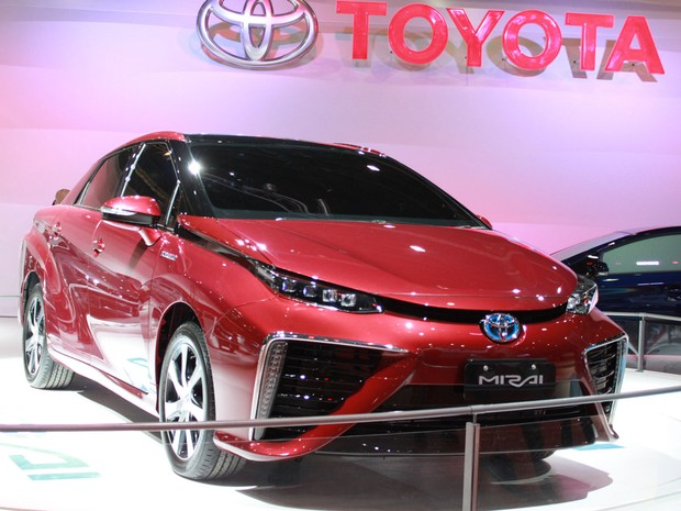 Toyota Mirai (Foto: Rafael Miotto/G1)