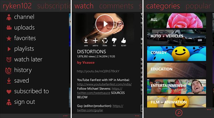 Veja os melhores apps para assistir vídeos do YouTube no Windows