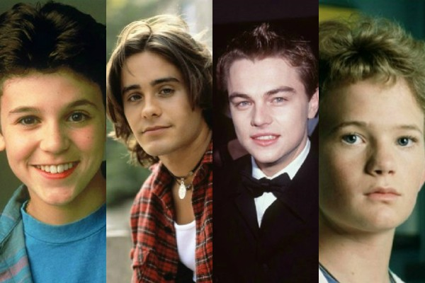 Fred Savage, Jared Leto, Leonardo DiCaprio e Neil Patrick Harris (Foto: Divulgação/Getty Images)