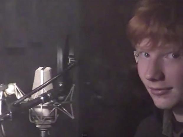 Ed Sheeran tocou no Brasil recentemente (Foto: Reprodução)