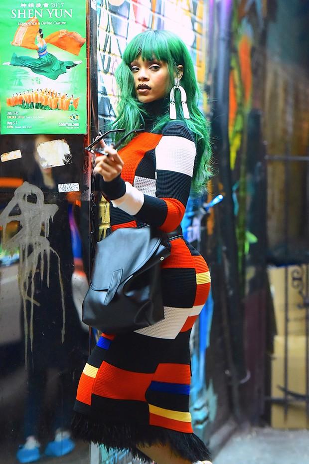 Rihanna (Foto: The Grosby Group / Agência)