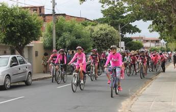 2ª Pedalada Rosa faz conscientização sobre prevenção ao câncer de mama