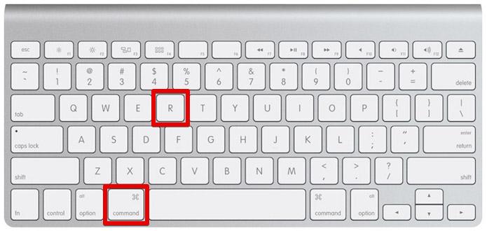 Inicie o Mac em modo de recuperação (Foto: Reprodução/Helito Bijora)