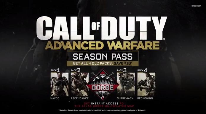 Call of Duty: Advanced Warfare dará um mapa bônus logo no dia de lançamento do game. (Foto: Reprodução/YouTube)
