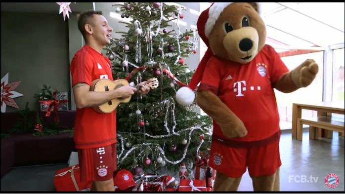 Rafinha Bayern especial Natal