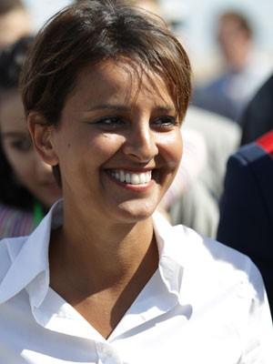Najat Vallaud-Belkacem é a nova ministra da Educação da França (Foto: Charly Tribnellau/AFP)