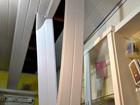 Criminosos invadem loja pelo telhado e furtam televisor e celulares no Acre
