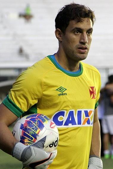 Martín Silva - Vasco - aquecimento (Foto: Paulo Fernandes/Vasco.com.br)