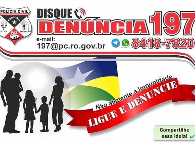 Quem quiser denunciar crimes pode fazer de várias formas utilizando as ferramentas de comunicação da polícia.  (Foto: Polícia Civil/Divulgação)