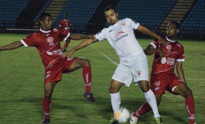 Valério somou três pontos em uma vitória fora de casa (Foto: Renato Gonçalves / Assessoria Novo Esporte)
