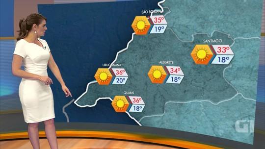 RS deve ter sábado ensolarado com pancadas de chuva no Norte e Litoral