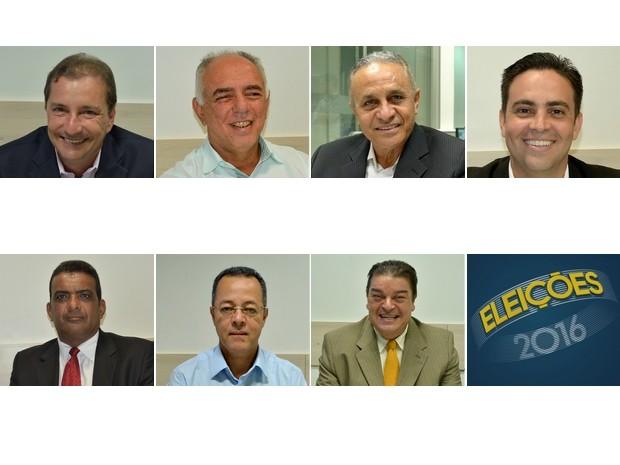 Candidatos de Porto Velho 2016  (Foto: Arte G1)