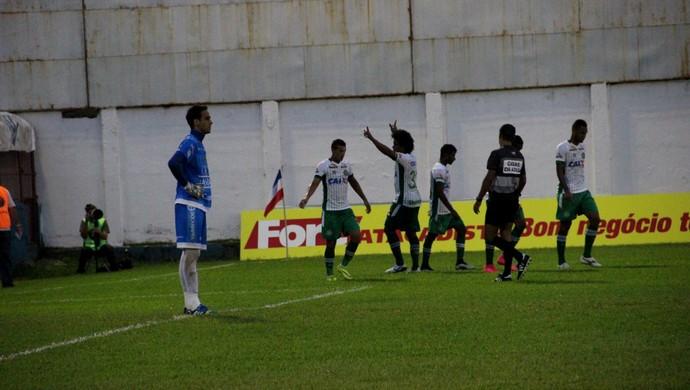Chapecoense contra o Brusque (Foto: Cleberson Silva/Chapecoense)