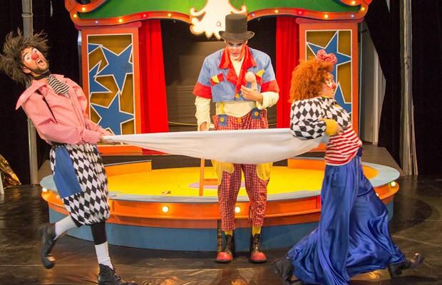 """Entre as atrações o espetáculo """"Gran Circo Stopim"""", da Cia dos Palhaços (Foto: Divulgação)"""