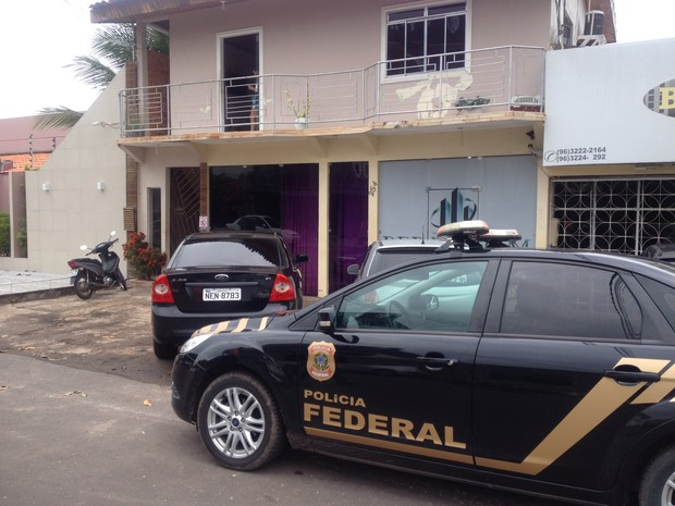 Operação, Polícia Federal , Macapá, Amapá (Foto: Abinoan Santiago/ G1)