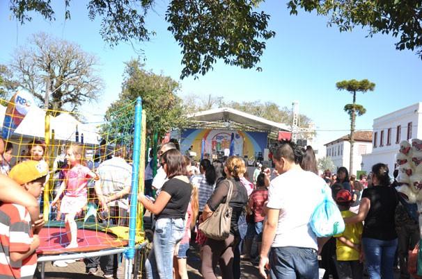 RPC na Praça na Lapa (Foto: Roger Santmor/ RPC)