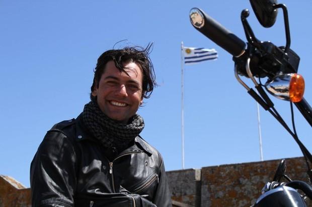 """Leonardo Machado durante a série """"Fim do Mundo"""", da RBS TV  (Foto: Alexandre Berra)"""