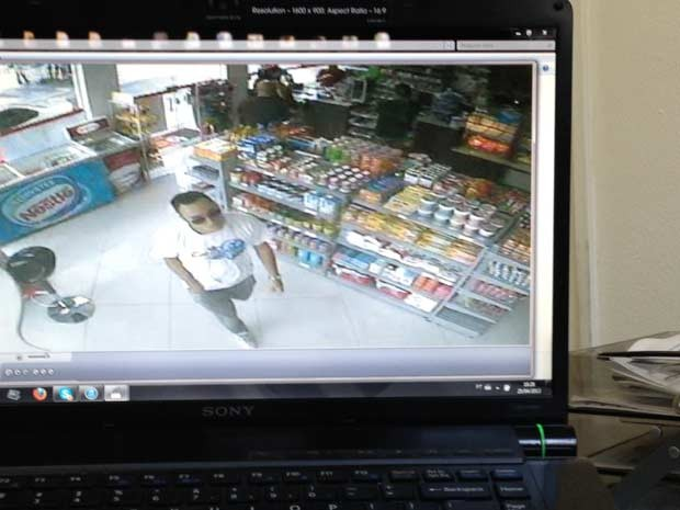 Polícia diz que suspeito sacou dinheiro com cartão da dentista em posto de gasolina (Foto: Glauco Araújo/G1)